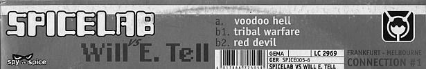 Sleeve Sticker SPICE 005-6