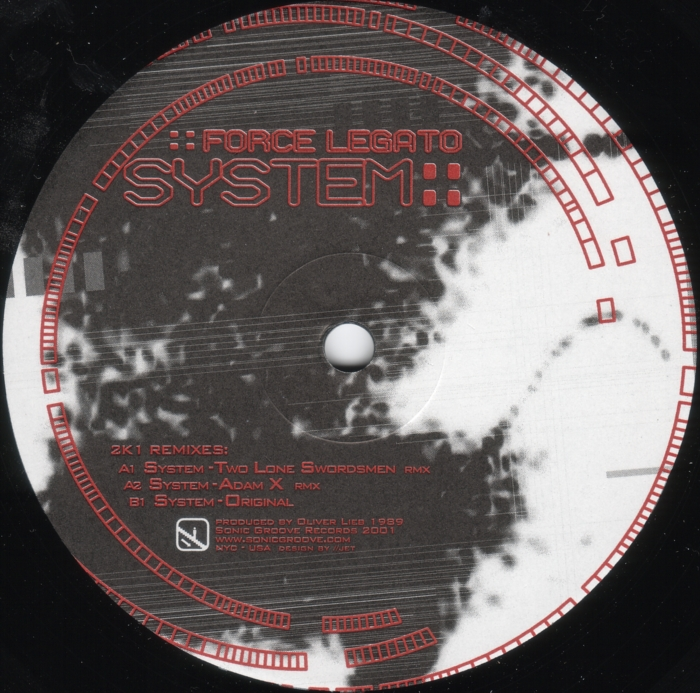 Force Legato - System 2K1 Remixes