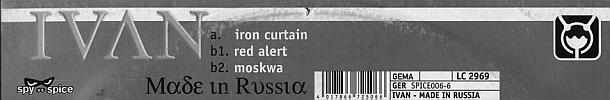 Sleeve Sticker SPICE 006-6
