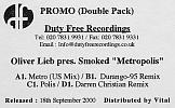 Sleeve Sticker Doublepack Vinyl Promo