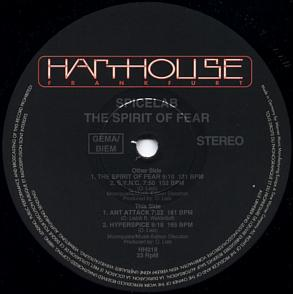 Spicelab - The Spirit Of Fear