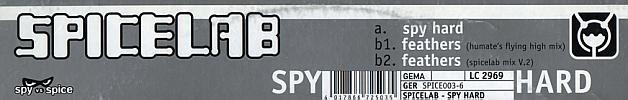 Sleeve Sticker SPICE 003-6