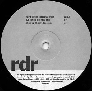 Various - RDR The Album Vol. One 'Clubbed To Death'